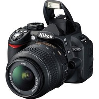 Nikon D3100 Digital SLR Camera Body (Kit Box) No Lens Included - International Version (No Warranty)