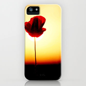 THE LIFE OF A FLOWER iPhone & iPod Case by Ylenia Pizzetti