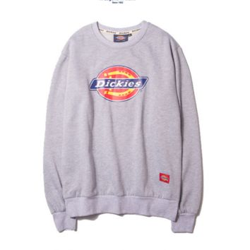 Fashion Dickies Unisex Lovers' Long Sleeve Pullover Sweaters
