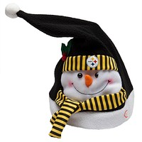 Pittsburgh Steelers - Animated Snowman Musical Stocking Hat