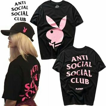 ASSC X Playboy Fashion Women Men Big Logo Print Short Sleeve T-Shirt Top I-CN-CFPFGYS