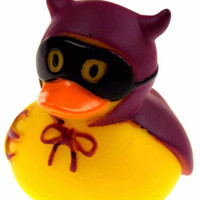 Set 12 Halloween Devil Rubber Ducks Duckie Party Favors Cake Toppers Dozen NEW
