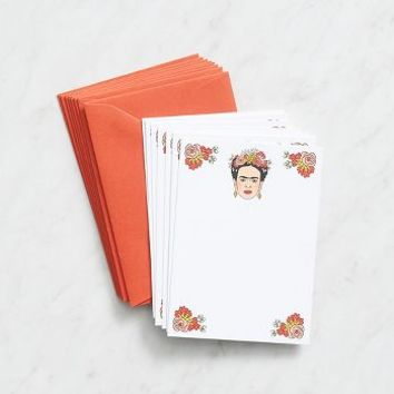 Frida Floral Stationery