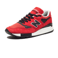 NEW BALANCE 998 MADE IN THE USA - RED/NAVY | Undefeated