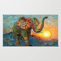 Elephant's Dream Area & Throw Rug by Waelad Akadan | Society6