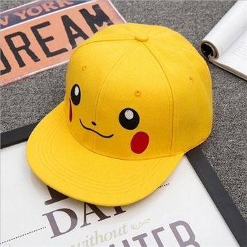 Pokemon Pikachu Baseball Hat Cap Adult & Kids