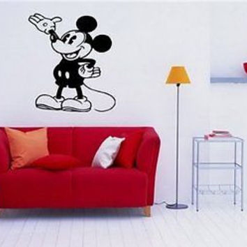 Mickey Mouse Disney Wall Art Sticker Decal S197