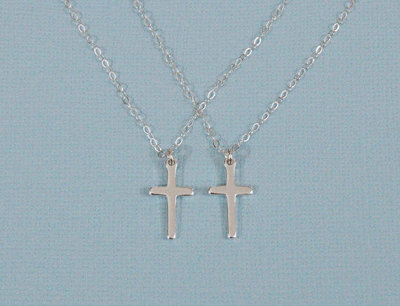 Mother Daughter Necklace Tiffany Mother Daughter Cross Necklace