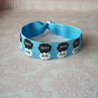 "Handmade The Fault In Our Stars ""Okay? Okay."" Elastic Hair Tie"