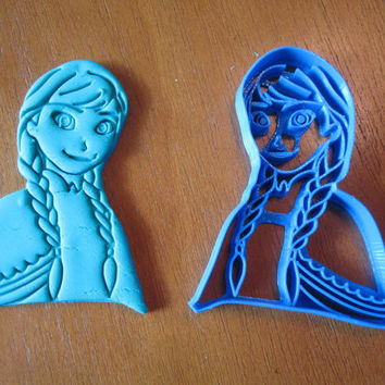 Princess Anna Inspired Cookie Cutter