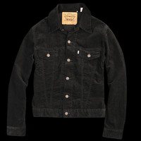 UNIONMADE - Levi's Vintage Clothing - 1967 Type III Trucker Jacket in Black Cord