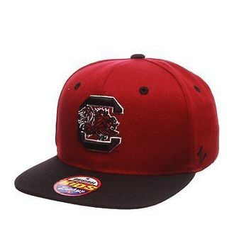 Licensed South Carolina Gamecocks Official NCAA Z11 Youth Adjustable Hat Cap by Zephyr KO_19_1