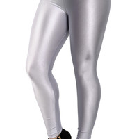 Shiny Silver Candy Leggings Design 239