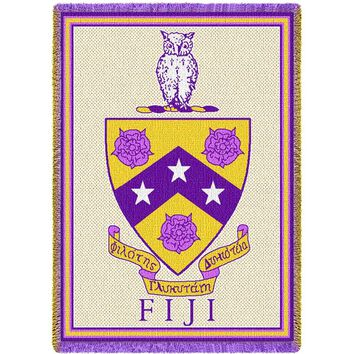Phi Gamma Delta Throw Blanket