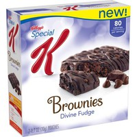 Kellogg's Special K Divine Fudge Brownies, 0.7 oz, 7 count - Walmart.com