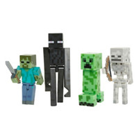 Minecraft Series #2 Hostile Mobs Action Figures