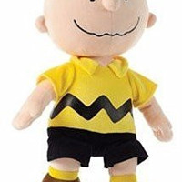 """Peanuts Charlie Brown 13"""" Classic Style """"Chuck"""" Plush Doll"""