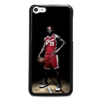 LEBRON JAMES CLEVELAND iPhone 5C Case Cover