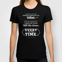 The Office Kevin Malone Quote Season 8 Episode 22 - Every of the Time - Teal and White T-shirt by Noonday Design
