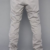 Dickies The Skinny Straight Work Pants in Silver,Pants for Men
