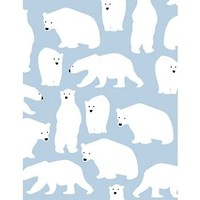 Polar Bears Wrapping Paper - Roll Wrap