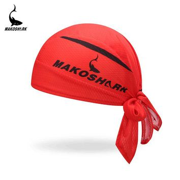 2018 Hot Breathable Multi Function Men Women MAKOSHARK Bicycle Hat Headscarf Cycling Cap Bandana Hood MTB Headband Head Scarf