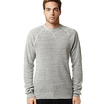 "Buffalo David Bitton ""Wal-Kir"" Long-Sleeve Crew Neck - Charlie"