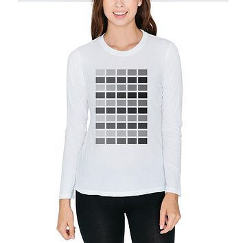 Valentine's Day 50 Shades of Grey Juniors Long Sleeve T-Shirt