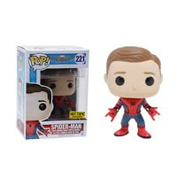 Funko Marvel Spider-Man: Homecoming Pop! Spider-Man (Unmasked) Vinyl Bobble-Head Hot Topic Exclusive