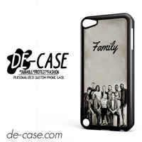 The Walking Dead Family DEAL-11085 Apple Phonecase Cover For Ipod Touch 5