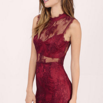 The Extraordinary Lace Bodycon Dress $56