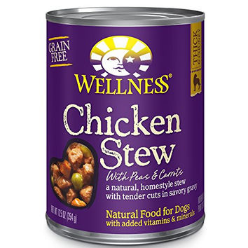 Wellness  Natural Wet Grain Free Canned Dog Food