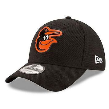 Baltimore Orioles Hat Adjustable Men's Bevel Team Cap New Era MLB