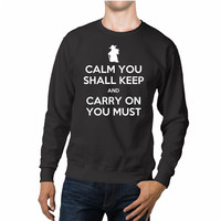 Yoda Star Wars Funny Quotes Unisex Sweaters - 54R Sweater