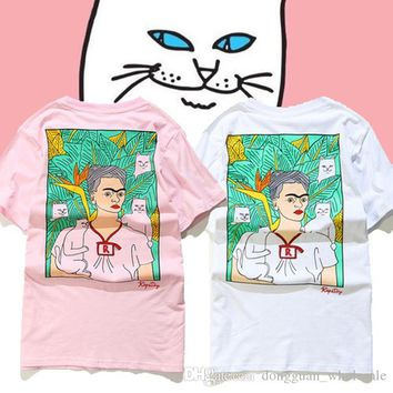 Tops Tees Ripndip Lord Nermal T-shirts Men Women High Quality Cotton O-neck Short Sleeve Fashion Cartoon Cat Ripndip T-shirt