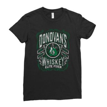 donovans whiskey Ladies Fitted T-Shirt