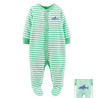 Carter's® Baby Boys' Shark Striped Terry Suit at www.bostonstore.com