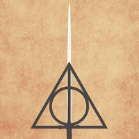 Harry Potter and the Deathly Hallows Movie Poster 11 x 17 Print