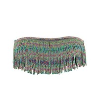 Dolly Straight Fringe L Space Swimwear - Fringed Top