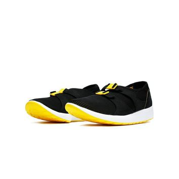 spbest Nike AIR SOCK RACER OG - Black/Tour Yellow-White