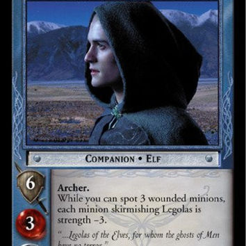 Lord of the Rings TCG - Legolas, Elven Stalwart - Siege of Gondor