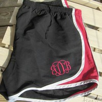 Ladies Running Shorts, Solid Colors from Fine Thread Art LLC