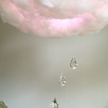 UPGRADE FOR CLOUD ~ Glass crystal raindrops