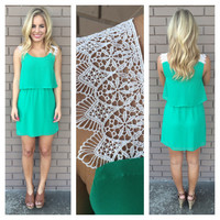 Green Lucky Charm Dress