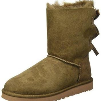 ESBHB6 Ugg Australia Bailey Bow Womens Boots Brown  UGG Kids' I Jesse Bow Boot  UGG boots with bows