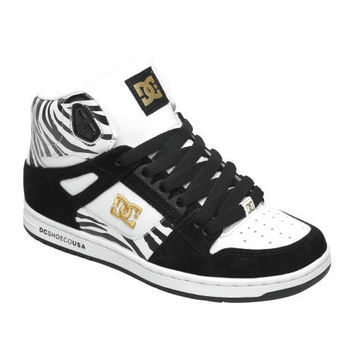 Womens Rebound Hi SE Shoes - DC Shoes