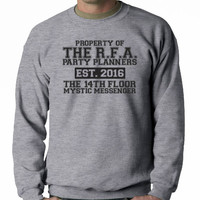 Property of The RFA party planners ( mystic messenger ) hooded Sweatshirt
