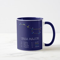 Constellation URSA MAJOR unique, elegant Mug