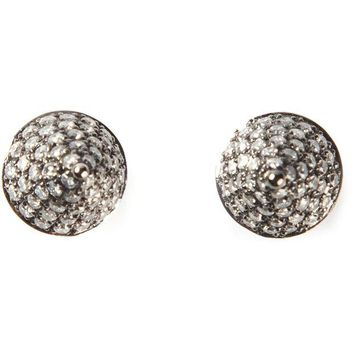 DCCKIN3 Elise Dray diamond cone earrings