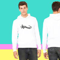 music notes f1 sweatshirt hoodiee